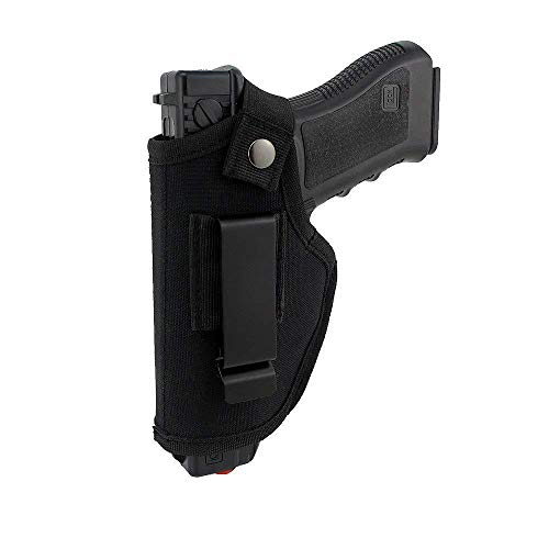 La Gracery Universal Gun Holster for IWB OWB Right Left Hand Inside Concealed Carry Fits All Similar Handguns S&W M&P Shield Glock ()