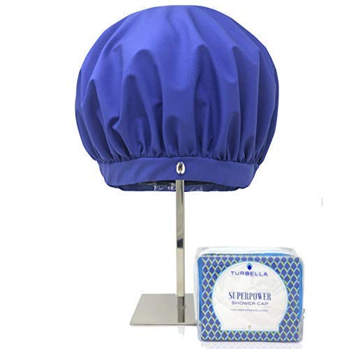SUPERPOWER CAP The Only Shower Cap For Women That Removes Humidity To Keep Dry Hair Styled | Large...