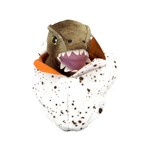 Jurassic World Tyrannosaurus Rex Hatchling Plush Toy for Dogs | Dinosaur Dog Toy, Soft Plush T-Rex Hatchling Toy