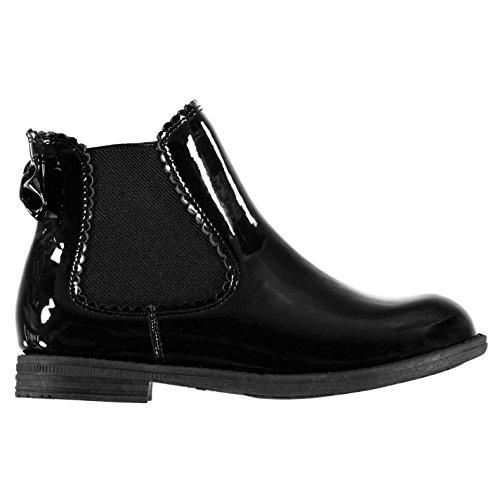 Miso Kinder Mädchen Cara Chelsea Boots Stiefel Schwarz