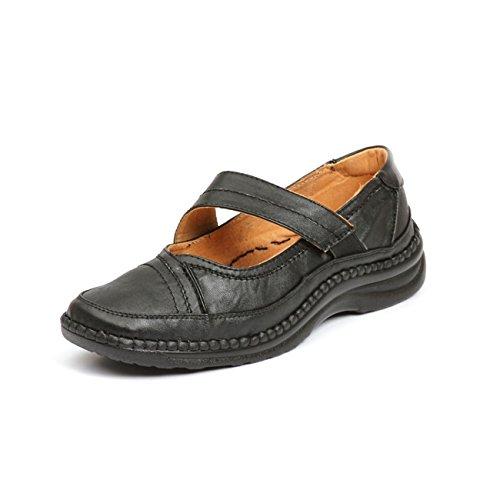 Noir De À Chaussures Pour Lacets Sandpiper Femme Ville gARx0R