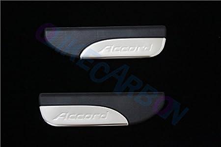 For Honda Accord 2013 14 15 16 2017 9TH Sedan Fashion Style ABS+Chrome Door Sill Scuff Plate Guard Sills Protector Trim