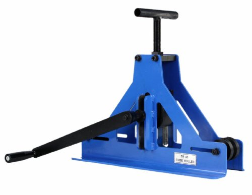 Erie Tools Manual Square Tube Pipe Roller Rolling Bender & Fabrication of Mild Steel Copper & Aluminum
