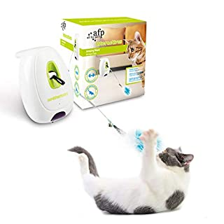 AFP Cat Toys Cat Interactive Teaser Toys (Jumping Wand)