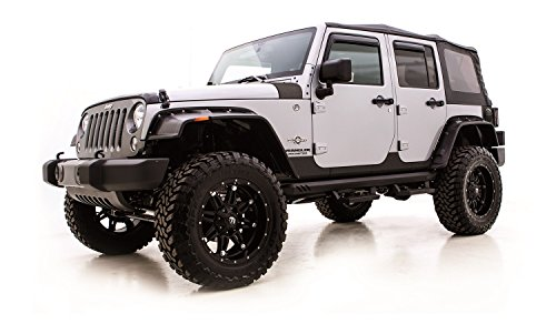 (Rampage Products 110082 Rhino Linings Rocker Guard (for Jeep Wrangler JK 2-door))