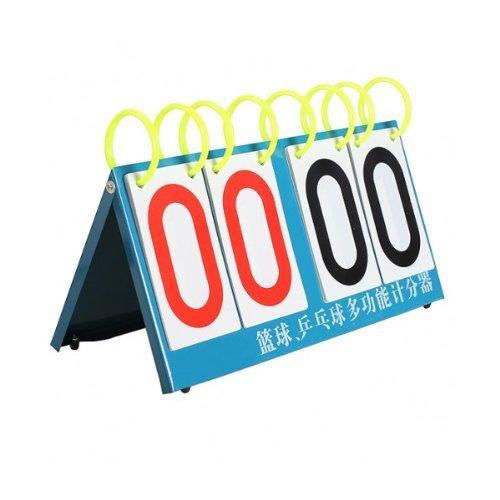 dealglad® 4Ziffer Flip ein Score Multi Sport Flip Anzeigetafel für Basketball Tennis