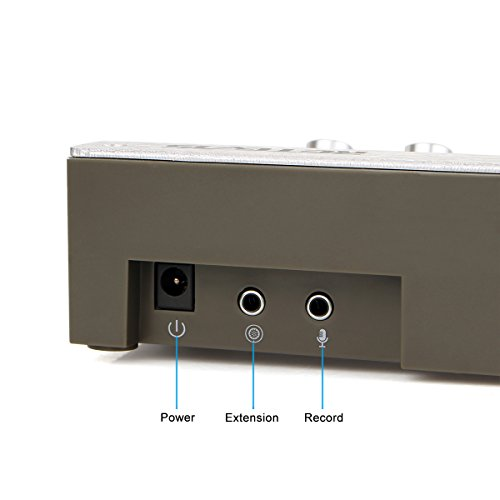 Retevis RT-9908 3W/3W Anti-interference Bank Counter Window Intercom System Dual-Way Intercommunication Microphone(Silver,1 Pack) by Retevis (Image #3)
