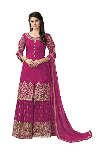 Women Kameez Ethnic Designer Traditonal Pink Indian Salwar Partywear YZ7xTnqq