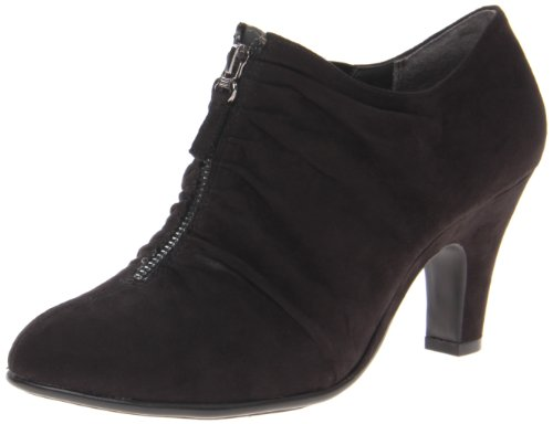 Aerosoles Women's Jalapeno Ankle Boot,Black Fabric,7 M US