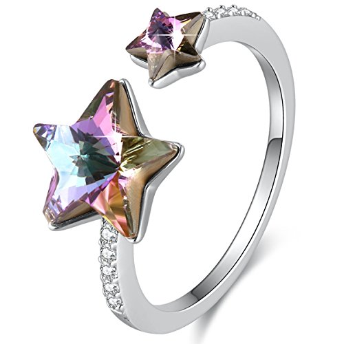 Genuine November Birthstone Heart Ring - 7
