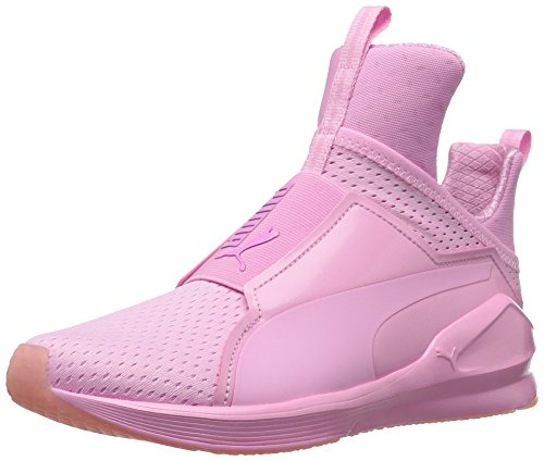 PUMA Women's Fierce Bright Mesh Cross-Trainer Shoe, Prism Pink, 8.5 M US (Women Pink Puma Shoes)