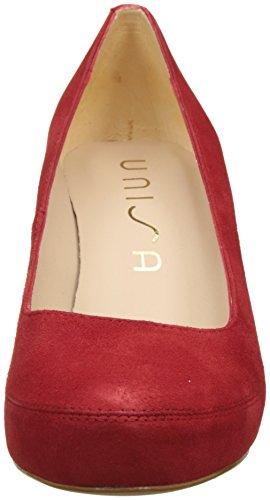 Rosso Tacco Scarpe Numar Con red ks Donna 18 Unisa xqXUwtOd0O