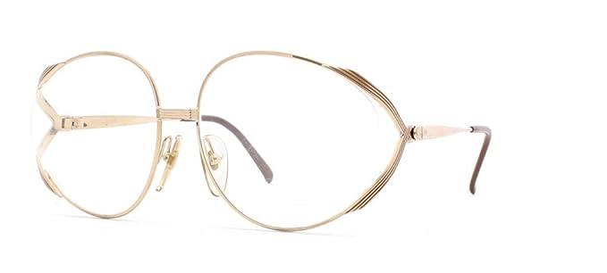 372ffe12b4d Christian Dior - Monture de lunettes - Femme or doré  Amazon.fr ...