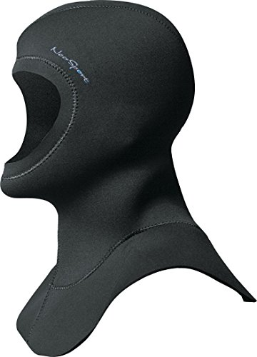 NeoSport Wetsuits Premium 3/2mm Neoprene Hood, Black, Large - Diving, Snorkeling & - Wetsuit Bib