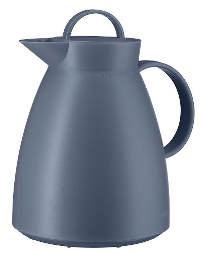 Alfi Vacuum Carafe Dan, Coffee Pot, Alu, Screwing Stopper, Vintage Indigo, 1l, 0935060100 ()