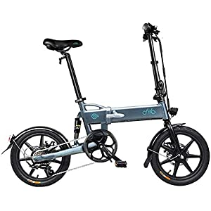 BINBAOSS Adult Folding Electric Bicycle with 250W Motor and 6-Speed Variable Speed Commuter Electric Bicycle, The Maximum Speed of City Bicycle is 25 Km/H