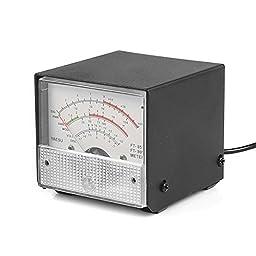 SainSmart External S Meter/SWR/Power Meter For Yaesu FT857/FT897 (White)
