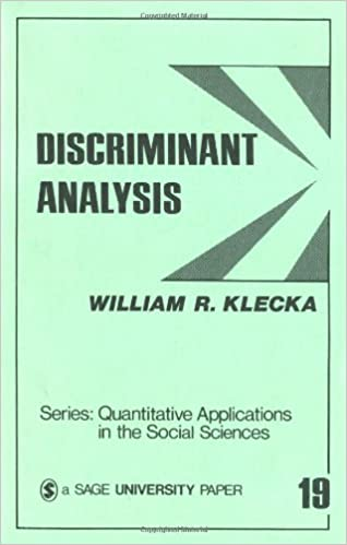 Download E-books Discriminant Analysis (Quantitative