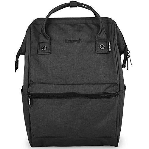 Himawari Travel Backpack Large Diaper Bag Doctor Bag Backpack School Backpack for Women&Men (H2261 Black)