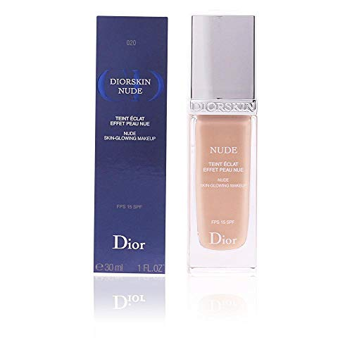 Christian Dior Skin Nude Skin Glowing Makeup Foundation SPF 15, No. 031 Sand, 1 Ounce (Best Dior Foundation For Dry Skin)