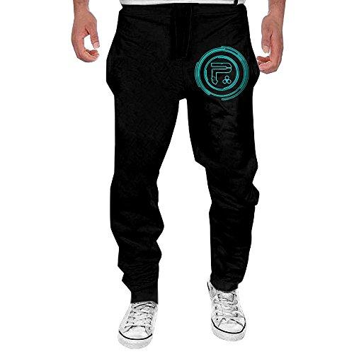 MULY Mens Periphery Sweatpants Long Active Pants (Innocent Onesie)