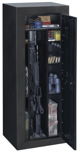 Amazon.com: Stack-On TC-16-GB-K-DS Tactical Security Cabinet, Gray ...