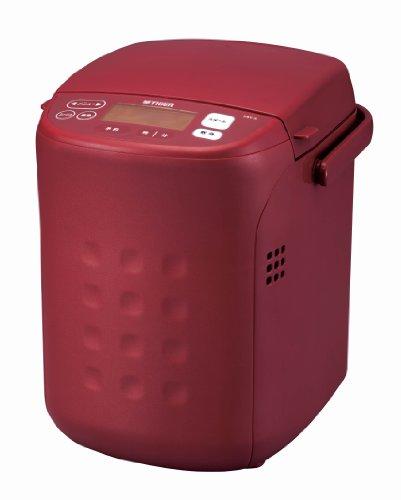 タイガー ホームベーカリー 「やきたて」 土鍋焼き レッド 1斤タイプ KBC-A100-R