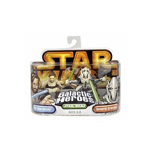 Star Wars Galactic Heroes Obi-wan Kenobi & General Grievous
