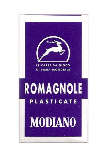 - Romagna 40 Italian Regional Playing Cards by Modiano - Romagnole 40 Carte de Gioco - 40 Barajas Italianas Estilo Romano by Modiano