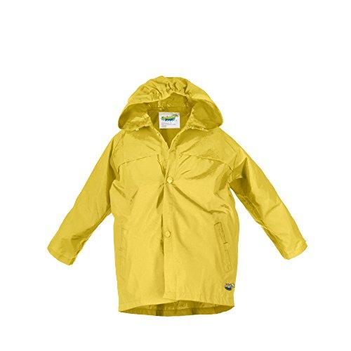 Splashy Children's Rain Jacket (8, Yellow) - Rain Slicker Kids