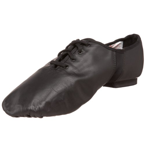 Sansha Tivoli Lace-Up Leather Jazz ShoeBlack14 Sansha (12 M US Womens10 M US Mens)