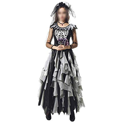 Ladies Vampire Costumes Devil Corpse Bride Black Evil