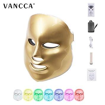 Amazon com : LED Face Mask Light Therapy Purge Professional FDA for