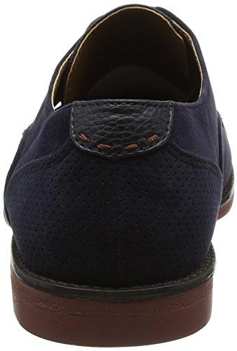 Burton Navy Scarpe Blu Derby Malone Menswear Uomo Stringate London 100 8tTqrw8