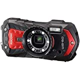 "Ricoh WG-60 Waterproof Digital Camera, 2.7"" LCD (WG-60 Red)"