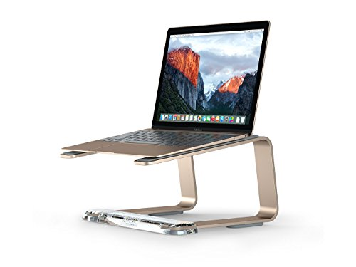 Griffin Elevator Desktop Stand for Laptops, Gold - Elegant desktop stand for laptops