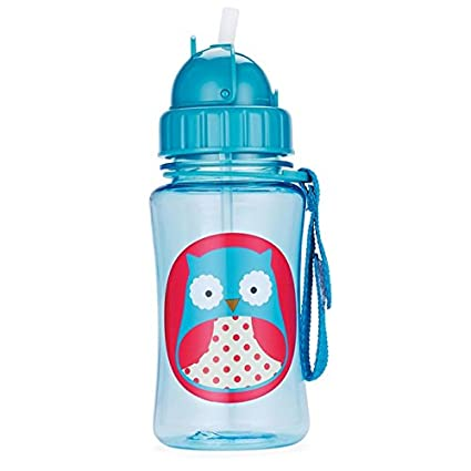 Toddler Baby Kid Feeding Drinking Water Straw Bottle Sippy Suction Cup Novelty
