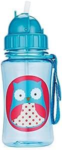 Skip Hop Kids Zoo Straw Bottle, Owl, 12oz