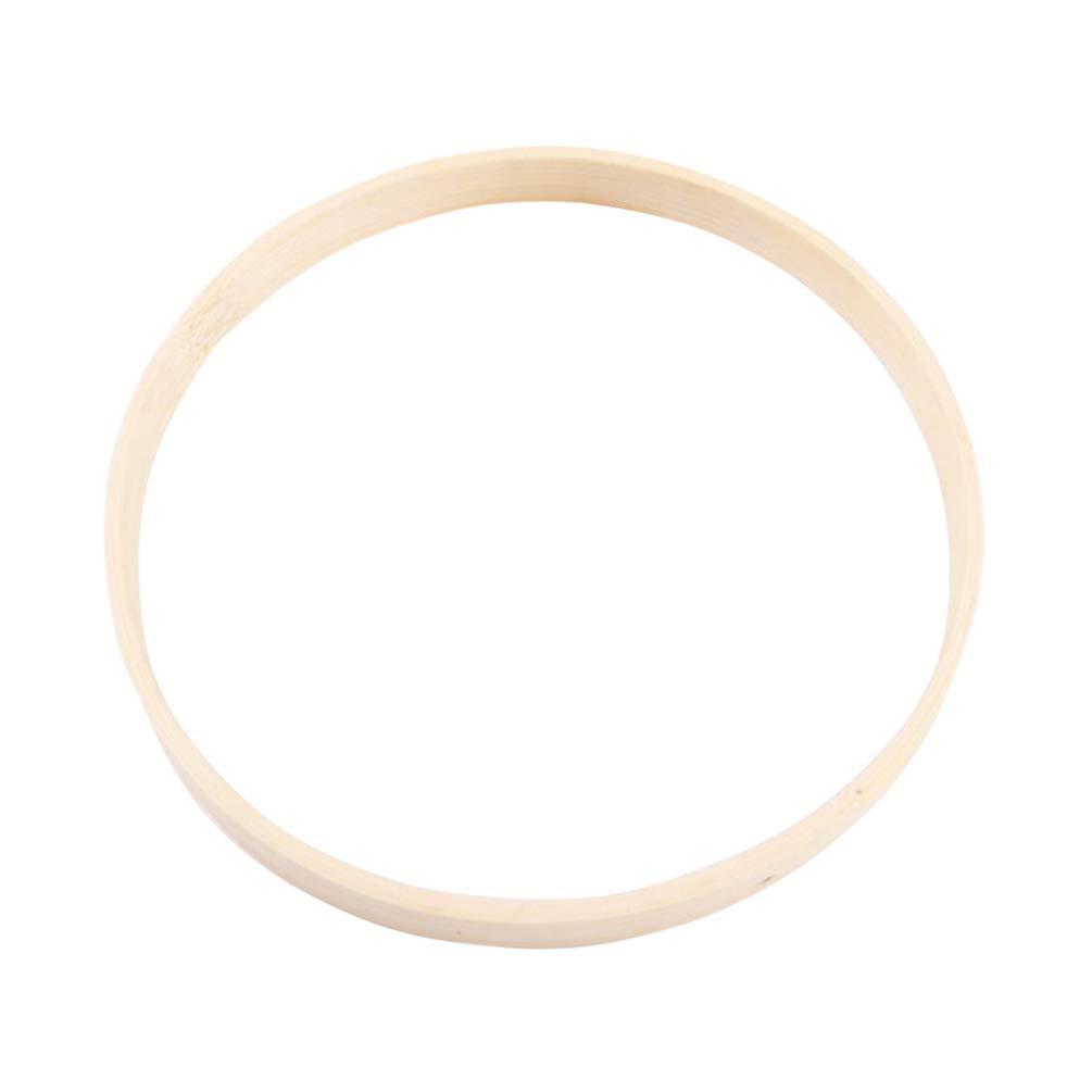 LIOOBO acchiappasogni Anelli di bamb/ù Fai da Te Artigianato acchiappasogni mazzi Decorazione Accessori 10 Pezzi bamb/ù 15 cm Bild 1