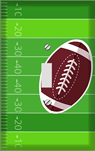 Football Field with Football Switchplate - Switch Plate Cover ()