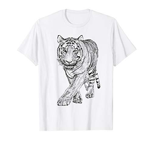 - Tiger T-Shirt - Tiger Sketch Tee