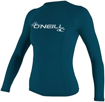 O'Neill UV Sun Protection Women's Basic Skins Long-Sleeve Rashguard Top
