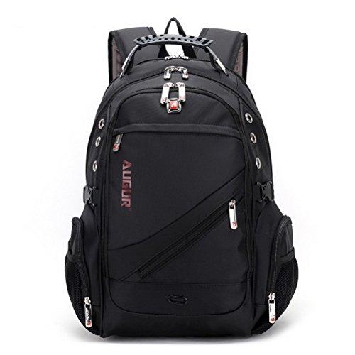Sport Computer Travel Outdoor Backpack (Purple) - 3