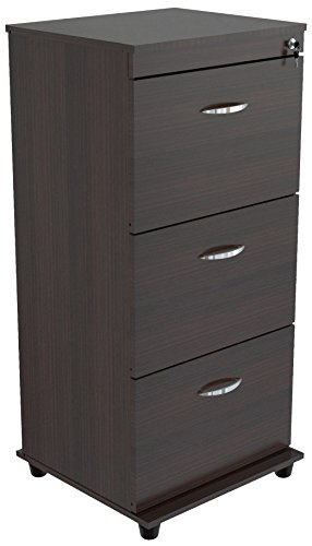 Inval America Uffici Commercial Collection 3-Drawer File Cabinet by Inval America