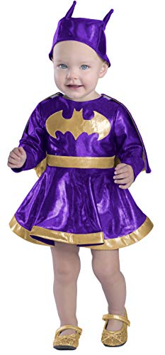 Princess Paradise Baby Girls' Batgirl Dress and Diaper Cover Set Deluxe, As Shown, 18M/2T]()