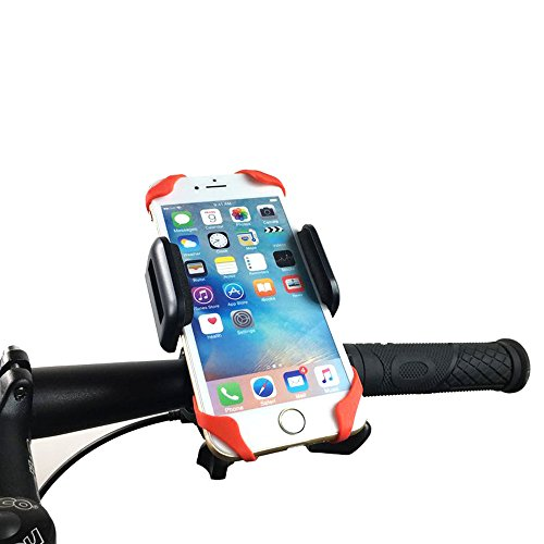 Bike and Motorcycle Phone Mount Holder Fansheng, Fits most Smart Phones: iPhone 7, 7 Plus, 6 Plus, 6, 6S, 5S, 5. Bike Mount for GPS, Samsung Galaxy S5/S4/S3, Google Nexus,HTC,LG, BlackBerry
