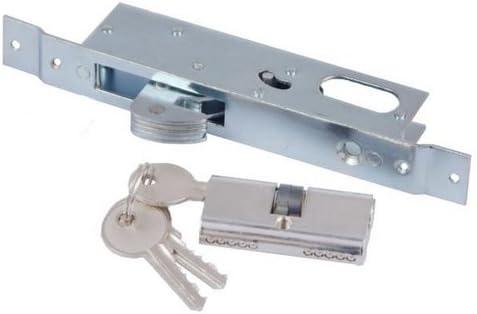 Cerradura de gancho para puerta corredera + herraje: Amazon.es: Bricolaje y herramientas