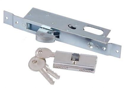 Cerradura de gancho para puerta corredera + herraje