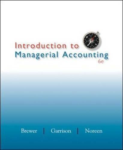 managerial accounting chapter 13 garison Chapter 1 serves four main purposes first, it explains the differences and similarities between financial and managerial accounting second, it describes the.