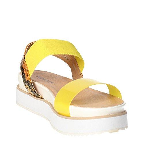 Docksteps DSE103498 Sandal Damen Gelb